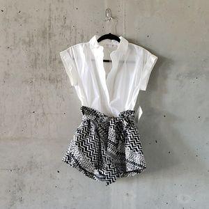 NWT Crisp Modern White Shirt